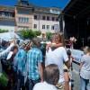 Die von Philipp Breitenmoser orchestrierte GvC-Band sorgt für Stimmung.